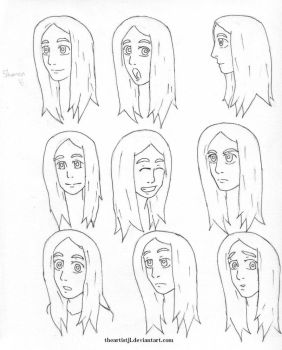 Shanny Expressions 1 by theartistjl
