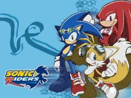 sonic time riders by Sonicx1661