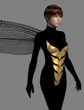 Janet van Dyne - The Wasp by timberoo
