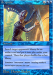 MTG: 'New-Classic' Blue Card by Ni9hth4wk