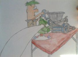 Ferb in S'winter by PnF-lover56
