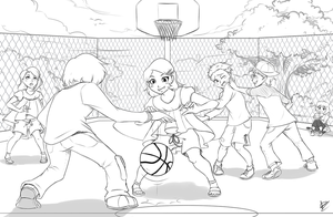 Com: Shoot Some Hoops by DragginCat