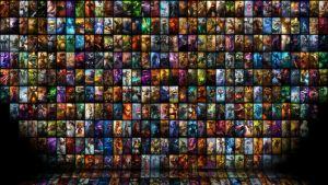 League of Skins by electronicinfection