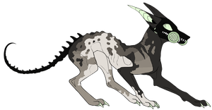 Lesser-Hound DTA by Errored-Adopts