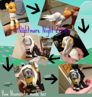 How I made Nightmare Night Zecora by Nsomniotic