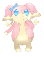 Pokemon Audino by Belle-chii