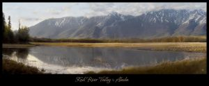 Knik River Valley by olawditscarey