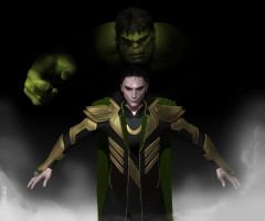Loki's monolo......! by THECOOLGEEK