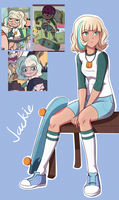 Star Vs. The Forces of Evil: Jackie by Mgx0