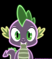 Neon Spike by ZantyARZ
