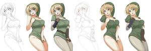 Female Link Compilation by Unbarred-Sin