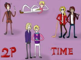 What time is it? 2P!Time!!!!!!! by NitroRed