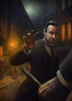 Sherlock Holmes, Crime Alley by JohnMcCambridge