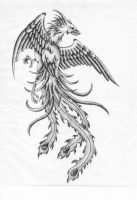Phoenix Tattoo by XenatheConqueror