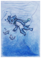 Diving by Snashyle