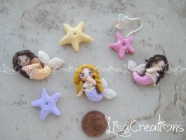 Little mermaids by LisaCreations by LisaCreations