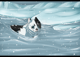 Ice is melting by Wolfvids
