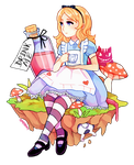 Alice In Wonderland by Amphany