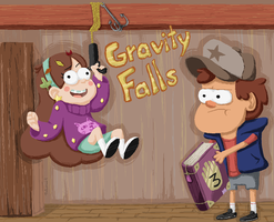 Gravity Falls - GRAPPLING HOOK by piskomil