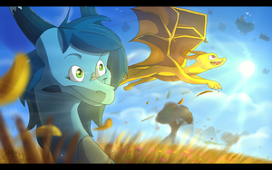 Friends on adventures by Mearow