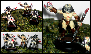 Predator Miniatures by rittie145