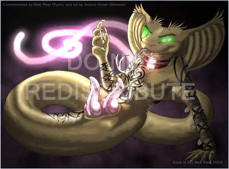 Kynis, the Snake by Benezia