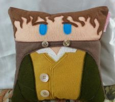 Handmade Lord of the Rings LOTR Merry Plush Pillow by RbitencourtUSA