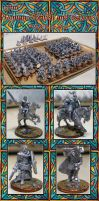 15mm Romano-British and Saxons by Endakil