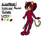 Mouse Adoptable! *POINTS ONLY* SOLD by Hellishly-Sweet