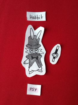 FAKEMON Habbit Pokemon top hat by NinoXD95