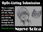 Nueve Sotoa by OpOc-Listing