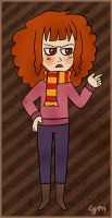 Hermione does not approve by stellacat