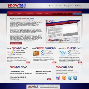 Snowball Web Interface by gkcnorhan