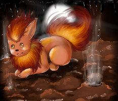 Flareon by Sarumi-off