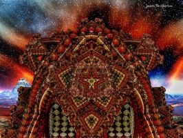 Darvian Temple Of Planet Nine by jim88bro