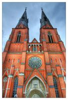 Uppsala Cathedral, III by the-drow