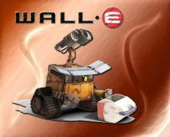 WALL-E loading by DoggyCorner