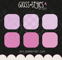 Glass Styles pack by Isfe