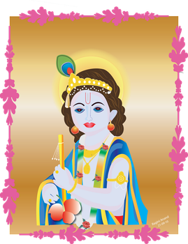 lord krishna wallpapers by RaginiAnand