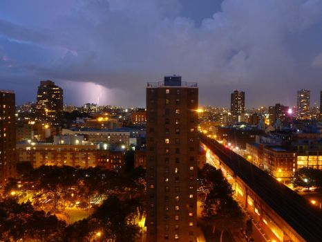 Lightning Strike August 13, 2016 New York (5) by Ladyhawke81