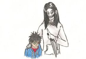 Jeff the Killer is my... Dad!? by GeraltTheWitcher