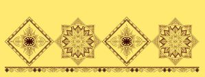 Color Henna motif by 5exer