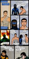 Magnificent Comics: Hail Mary Page 005 and 006 by J-Mace