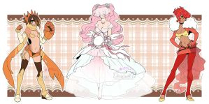 Random Pokemon Gijinka Adopts (CLOSED) by Desiree-U