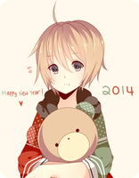 Happy New Year 2014 by Meeluf