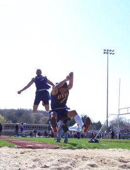 Long Jump, Frames 1 and 2 by Gev