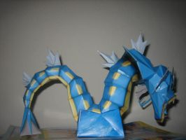 Gyrados papercraft by safaksimsek