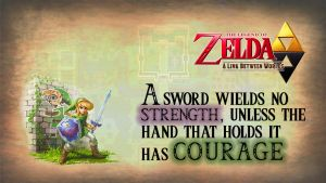 Zelda - A Link Between Worlds Wallpaper by BenHardly