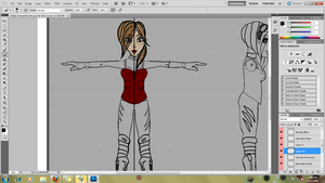 Working on my Character for school by sheehanjessica9