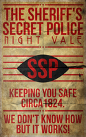 The Sheriff's Secret Police: Night Vale by Thatoneguywithbrains